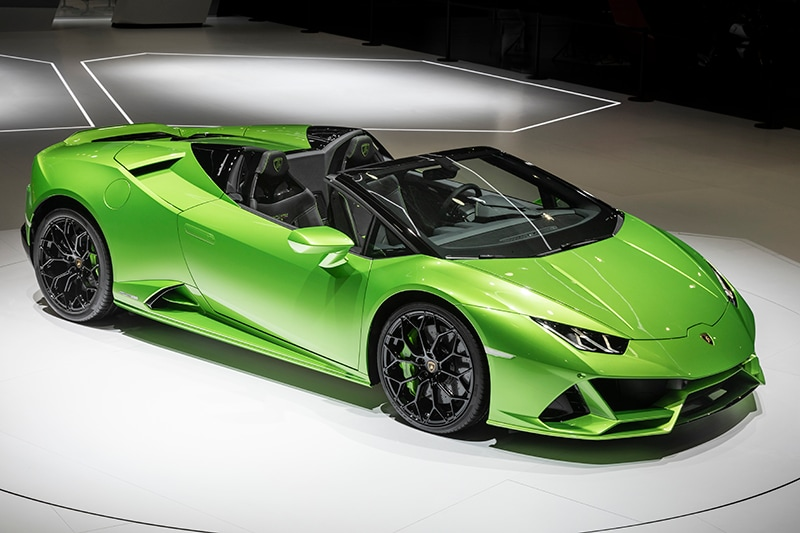 Huracan Evo Spyder Mag Lamborghini Ohio