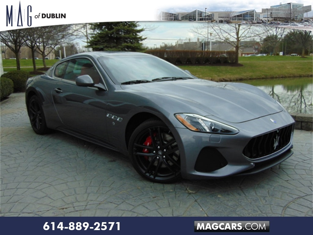 Pre-Owned Featured 2018 Maserati Granturismo Sport Coupe for sale near you in Columbus, OH