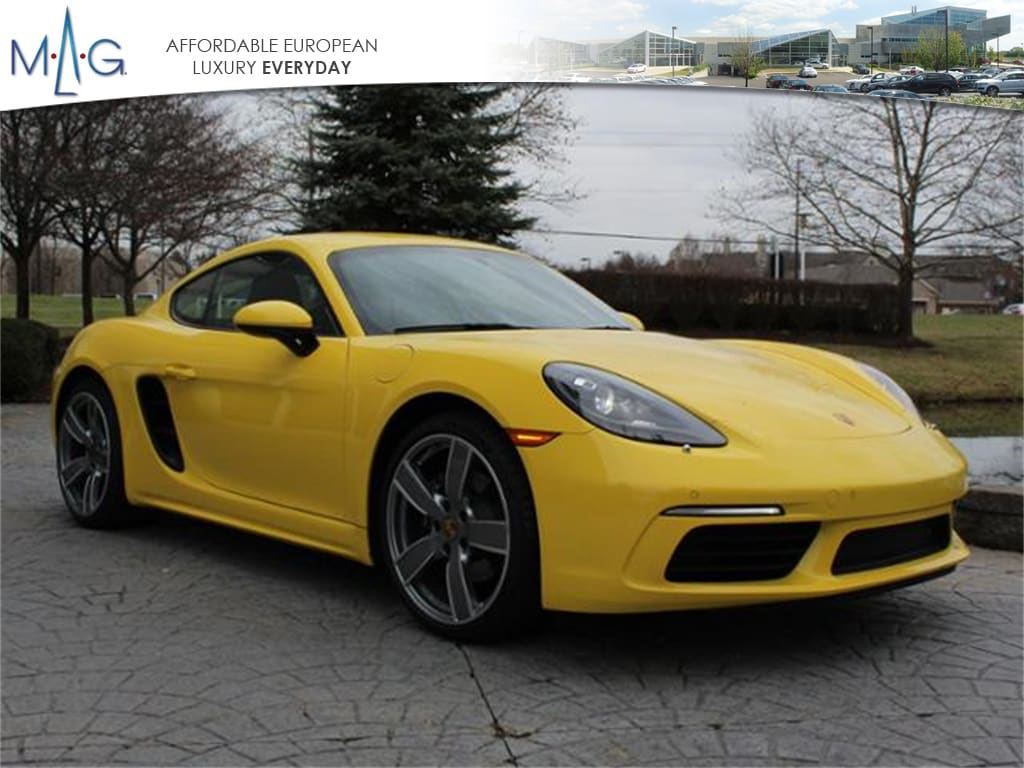 Pre-Owned Featured 2018 Porsche 718 Cayman Coupe for sale near you in Columbus, OH
