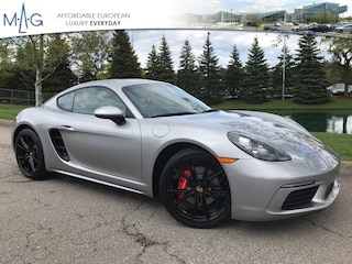 New 2019 Porsche 718 Cayman S S Coupe WP0AB2A83KS278770 PO2086 for sale near you in Columbus, OH