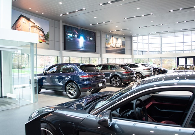 MAG Porsche Dublin Showroom