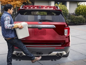 available hands-freefoot-activated liftgate