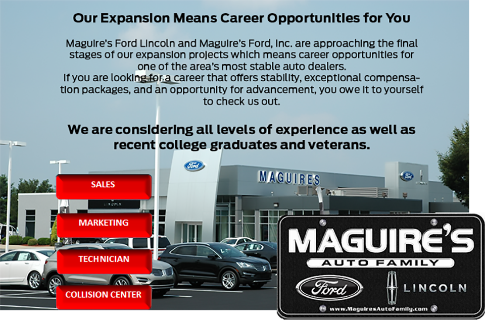 Employment | Maguire's Ford Lincoln