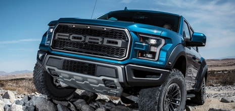 F-150 Raptor. It's Time For Some Serious Off-Roading.