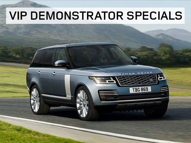 VIP Demonstrator Specials - April 2018 at Land Rover Hanover & Land Rover Cape Cod