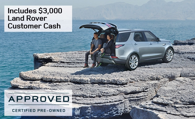 2017 Land Rover Discovery Customer Cash - Special for February 2017 at Rover Hanover & Land Rover Cape Cod