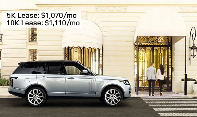 2017 Range Rover SE - Special for December 2017 at Land Rover Hanover & Land Rover Cape Cod