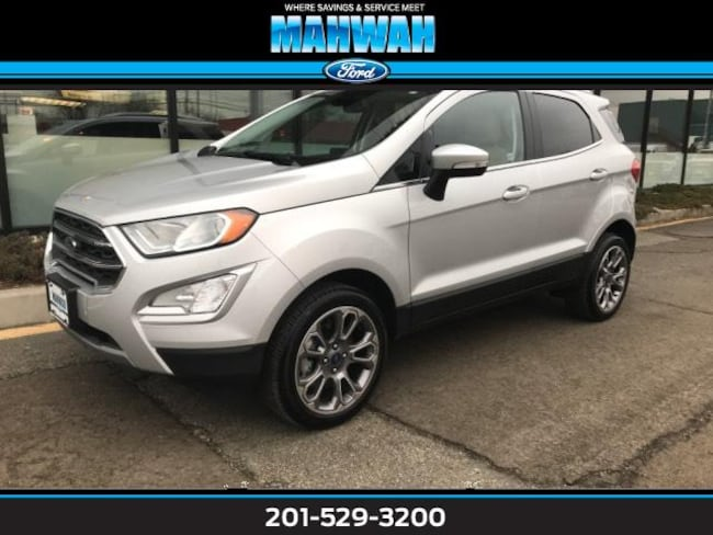 Used 2018 Ford EcoSport Titanium 4WD Sport Utility in Mahwah
