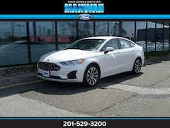 New 2019 Ford Fusion SE AWD Car in Mahwah