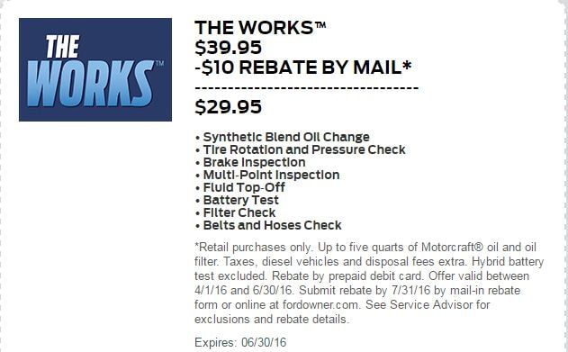 Ford Express Service The Works Mahwah