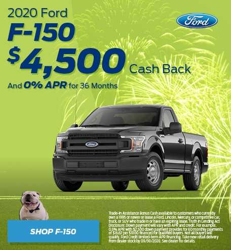 New 2020 Ford F-150 | Cash Back