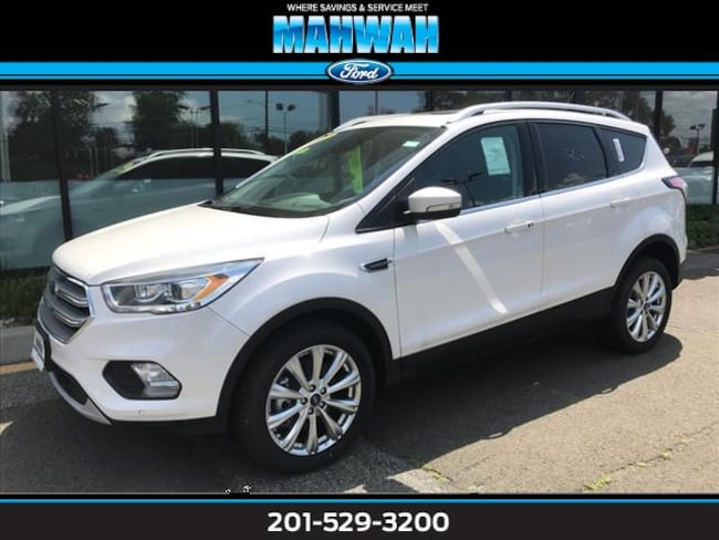 New 2017 Ford Escape Titanium 4WD Sport Utility in Mahwah