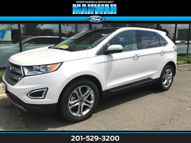 New 2017 Ford Edge Titanium AWD Sport Utility in Mahwah
