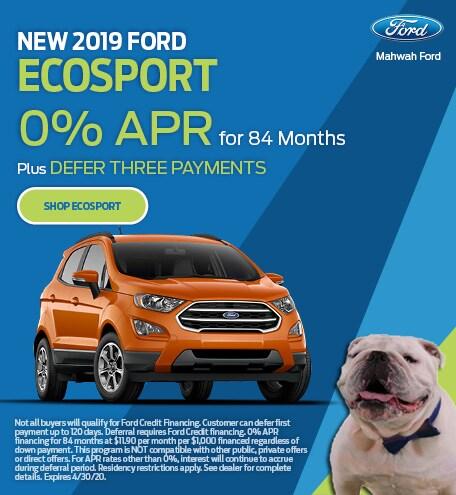 New 2019 Ford EcoSport | APR