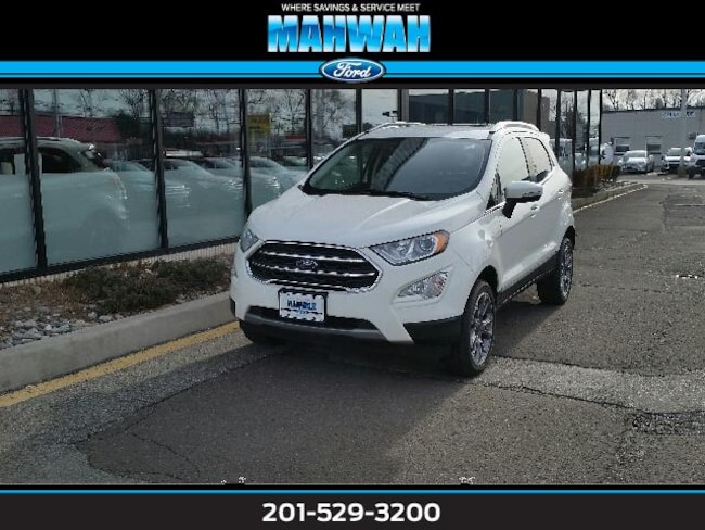New 2019 Ford EcoSport Titanium 4WD Sport Utility in Mahwah
