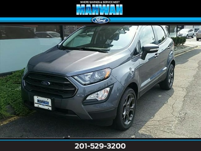 New 2018 Ford EcoSport SES 4WD Sport Utility in Mahwah