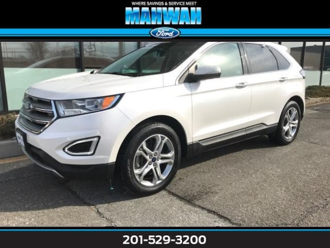 Certified Used 2015 Ford Edge 4dr Titanium AWD Sport Utility in Mahwah