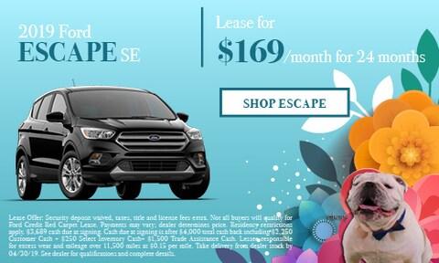 April - 2019 Ford Escape