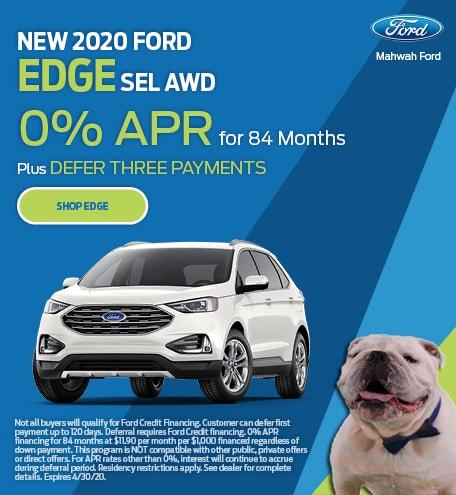 New 2020 Ford Edge | APR