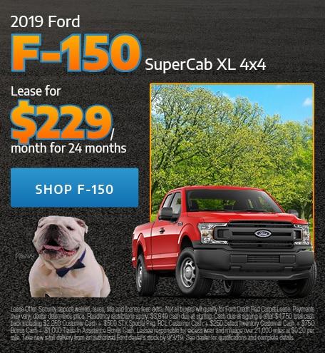 2019 Ford F-150 SuperCab XL 4x4