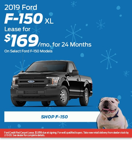 New 2019 Ford F-150 XL | Lease