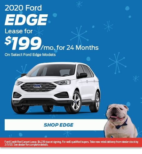 New 2020 Ford Edge | Lease