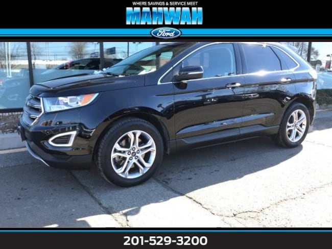 Certified Used 2018 Ford Edge Titanium AWD Sport Utility in Mahwah
