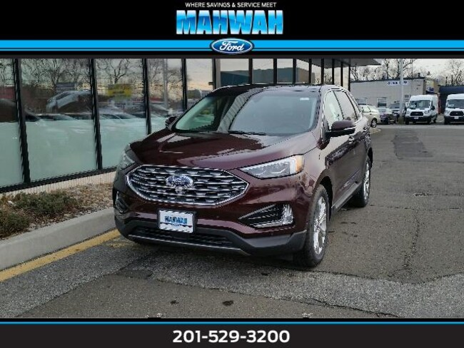 New 2019 Ford Edge Titanium AWD Sport Utility in Mahwah