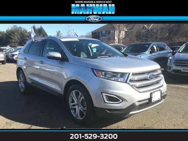 Used 2017 Ford Edge Titanium AWD Sport Utility in Mahwah