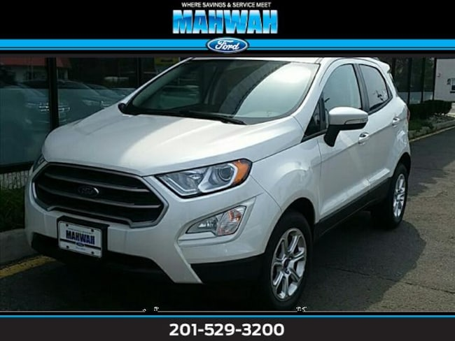 New 2018 Ford EcoSport SE 4WD Sport Utility in Mahwah
