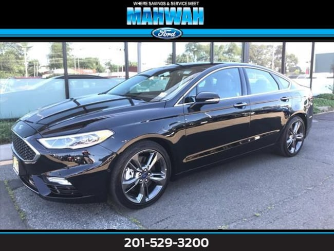 New 2017 Ford Fusion Sport AWD Car in Mahwah