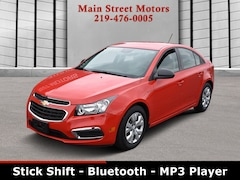 2016 Chevrolet Cruze Limited L Manual