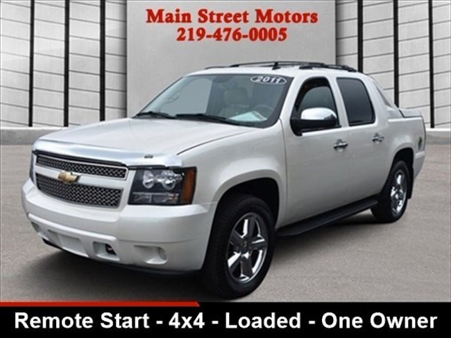 2011 Chevrolet Avalanche LTZ Main Street Motors 1059 West St Valparaiso IN 46385 New cars used cars trucks lifted trucks ford chevy dodge ram gmc jaguar jeep kia linclon merceds benz nissan subaru Cars trucks suvs Portage chesterton Hobart beverly shores michicgan city westville alida wanatah malden lakes of the four seasons boone grove kouts hanna knox de motte wheatfield crown point merrillville schererville st. john cedar lake north judson financing bad credit
