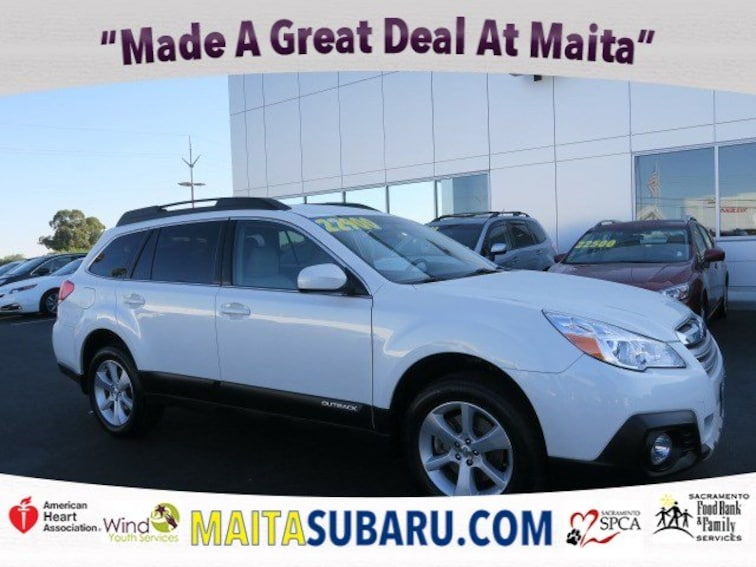 Used 2014 Subaru Outback 3.6R Limited Wagon for sale in Sacramento CA