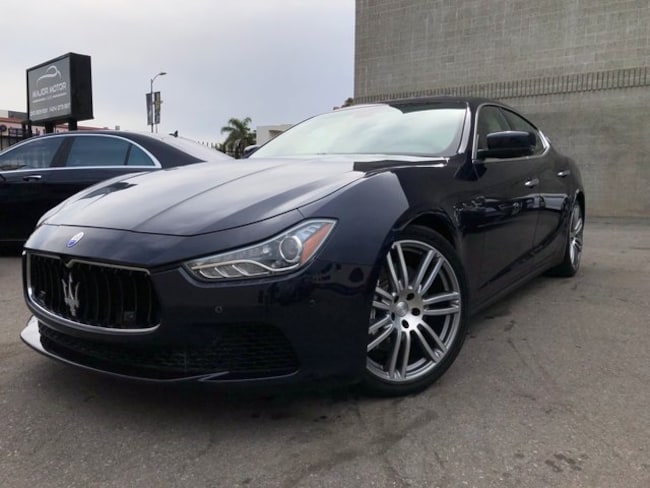 2015 Maserati Ghibli S Q4 Sedan