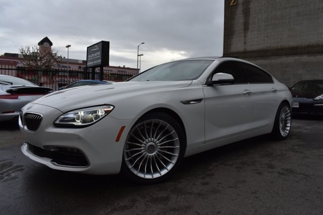 2016 BMW 6 Series 640i Gran Coupe Sedan