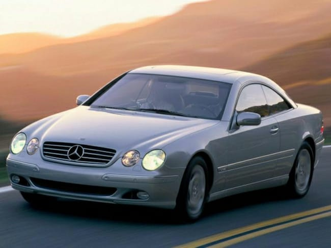 2001 Mercedes-Benz CL-Class CL 500 Coupe