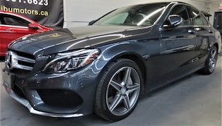 2015 Mercedes-Benz C-Class C300 4MATIC AMG PKG PANORAMIC ROOF Sedan