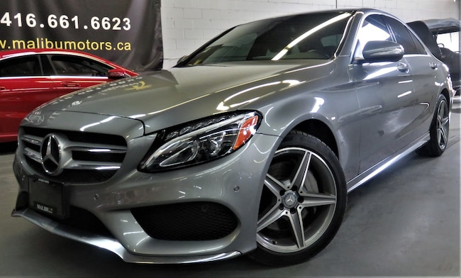 2015 Mercedes-Benz C-Class C300 4MATIC AMG PKG NAVIGATION, PAN ROOF  Sedan
