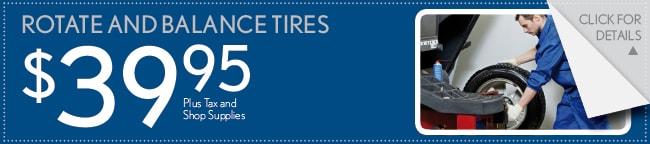 Rotate And Balance Tires Coupon, Buford