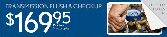 Transmission Flush & Checkup Coupon, Buford