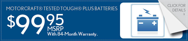 Battery Special Coupon, Buford