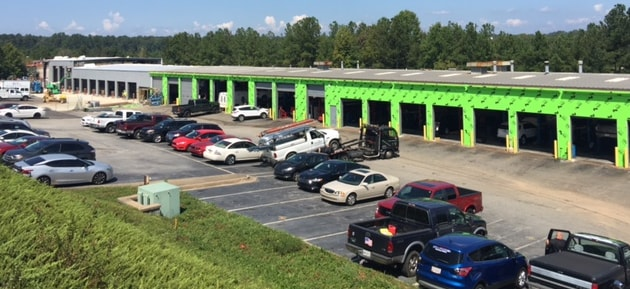 Mall of Georgia Ford service department renovation