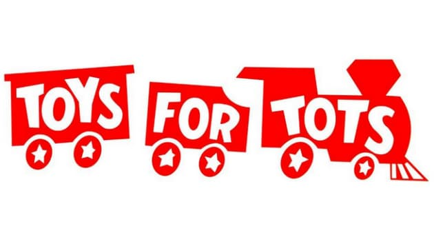 Toys of Tots donation center in Atlanta