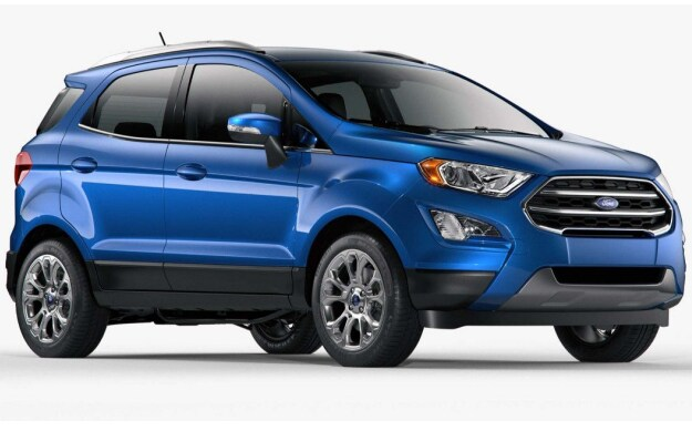 2018 Ford EcoSport exterior
