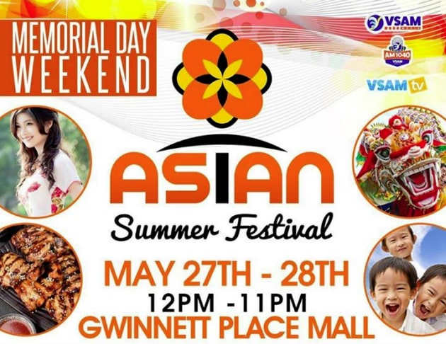 Asian Summer Festival in Duluth Georgia