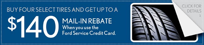 Tire Rebate Coupon, Buford