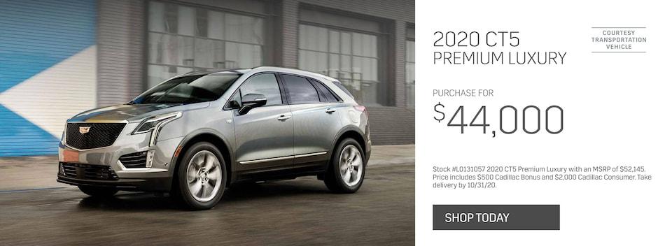 New 2020 Cadillac CT5 Premium Luxury