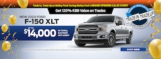 New 2020 Ford F-150 XLTs