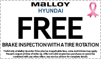 Free Brake Inspection with Tire Rotation